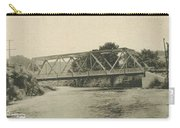 Bailey Bridge Over Willowemoc River Carry-all Pouch