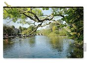 Bakewell Riverside - Through The Branches Carry-all Pouch