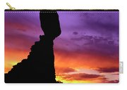 Balanced Rock Sunset Arches Nat.park Carry-all Pouch