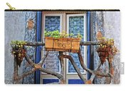 Balcony Door Dordogne France Carry-all Pouch