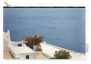 Balcony Oia Santorini Greek Islands Carry-all Pouch
