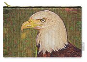 Bald Eagle Embroidered Carry-all Pouch
