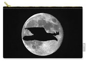 Bald Eagle Moon Carry-all Pouch