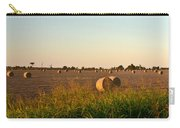 Bales In Peanut Field 8 Carry-all Pouch