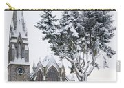 Ballater Church In Snow Carry-all Pouch