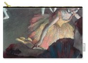 Ballerina And Lady With A Fan Carry-all Pouch