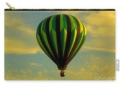 Balloon Ride Through Gold Clouds Carry-all Pouch