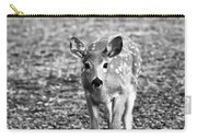 Bambi In Black And White Carry-all Pouch