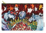 Band Of Horses Carry-all Pouch by Carol Law Conklin