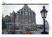 Banff Springs Hotel In The Canadian Rocky Mountains Carry-all Pouch