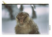 Barbary Macaque Macaca Sylvanus Male Carry-all Pouch