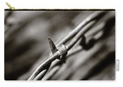 Barbbed Wire 1 Carry-all Pouch