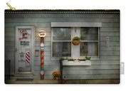 Barber - Belvidere Nj - A Family Salon Carry-all Pouch by Mike Savad