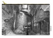 Barber - Chair - Eastern State Penitentiary - Black And White Carry-all Pouch