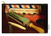Barber - Keep The Razor Sharp Carry-all Pouch