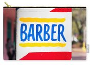 Barber Sign Carry-all Pouch