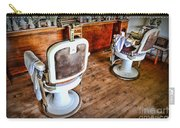 Barber - The Barber Shop 2 Carry-all Pouch by Paul Ward