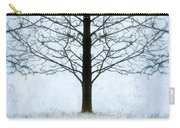Bare Tree In Winter Carry-all Pouch