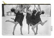 Barefoot Dance In The Snow Carry-all Pouch