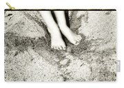 Barefoot In The Sand Carry-all Pouch