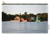 Barge In Naples Bay Carry-all Pouch