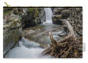 Baring Creek Waterfall And Rapids Carry-all Pouch