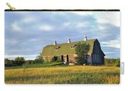 Barn In A Golden Field Carry-all Pouch