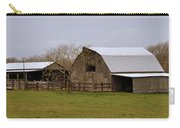 Barn In The Ozarks Carry-all Pouch by Marty Koch