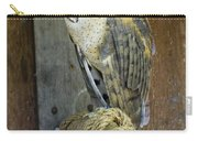 Barn Owl At Roost Carry-all Pouch
