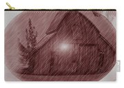 Barn Snow Globe Carry-all Pouch