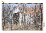Barn Through Trees Carry-all Pouch