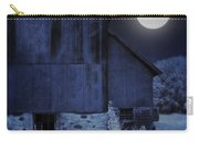 Barn Under A Full Moon Carry-all Pouch