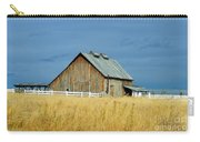 Barn With Stormy Skies Carry-all Pouch