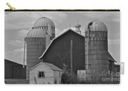 Barns And Silos Black And White Carry-all Pouch
