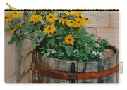 Barrel Of Flowers Carry-all Pouch