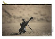 Barrett M82a1 Rifle Sits Ready Carry-all Pouch