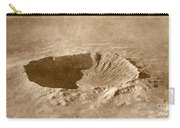 Barringer Crater Carry-all Pouch