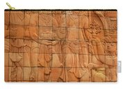Bas Relief Carry-all Pouch
