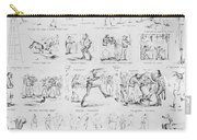 Baseball Cartoons, 1859 Carry-all Pouch
