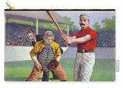 Baseball Game, C1895 Carry-all Pouch