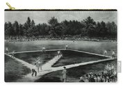 Baseball In 1846 Carry-all Pouch by Omikron