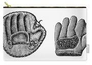Baseball Mitt, C1900 Carry-all Pouch
