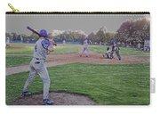Baseball On Deck Digital Art Carry-all Pouch