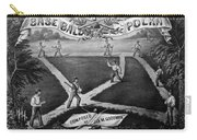 Baseball Polka, 1867 Carry-all Pouch