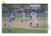 Baseball Runner Heading Home Digital Art Carry-all Pouch