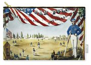 Baseball Song Sheet, 1860 Carry-all Pouch