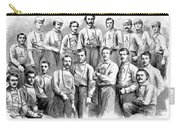Baseball Teams, 1866 Carry-all Pouch by Granger