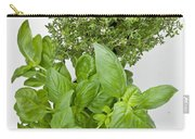 Basil And Thyme Carry-all Pouch by Joana Kruse