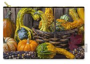 Basket Full Of Gourds Carry-all Pouch
