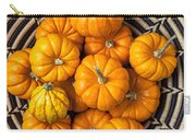 Basket Full Of Small Pumpkins Carry-all Pouch